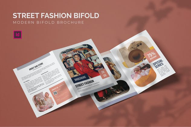 Street Fashion - Bifold Brochure