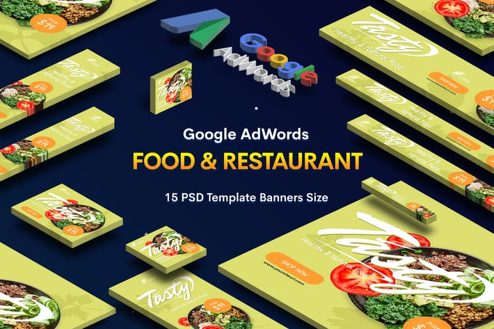 Cover Image For Food & Restaurant Banners Ad