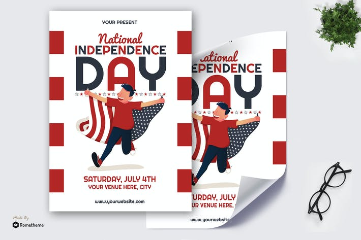 National Independence Day - Poster GR