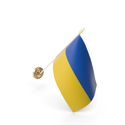 Mauerflagge Ukraine