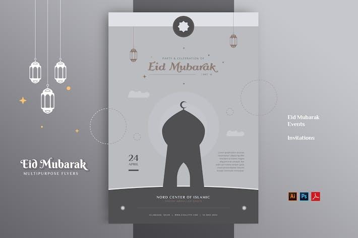 Thumbnail for EID MUBARAK Event Invitation Flyer