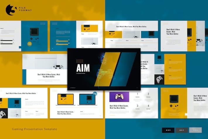 Aim - Gaming Presentation Template