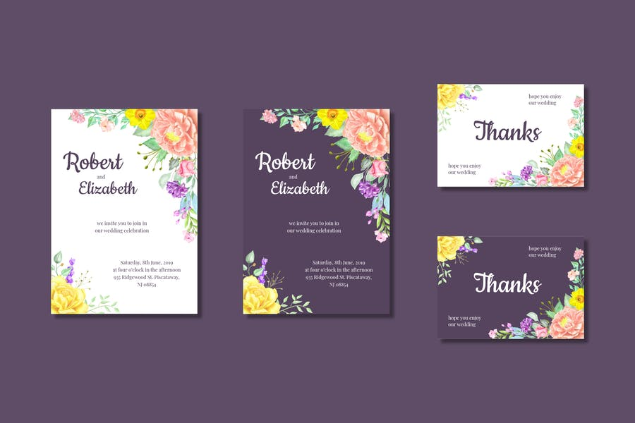 Wedding Invitation Vol.4