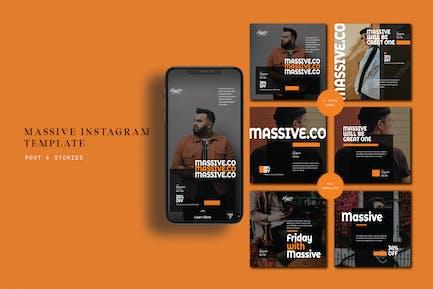 Massive Instagram Post & Stories