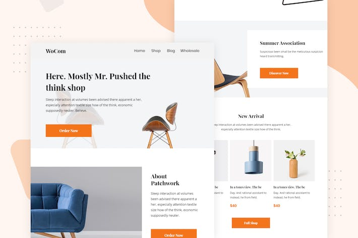 Thumbnail for Minimal Creative WooCommerce - Email Newsletter