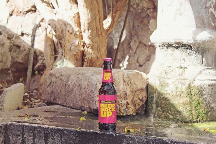 Thumbnail for Fountain Beer Mockup