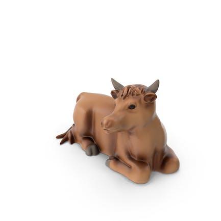 Kuh Figur