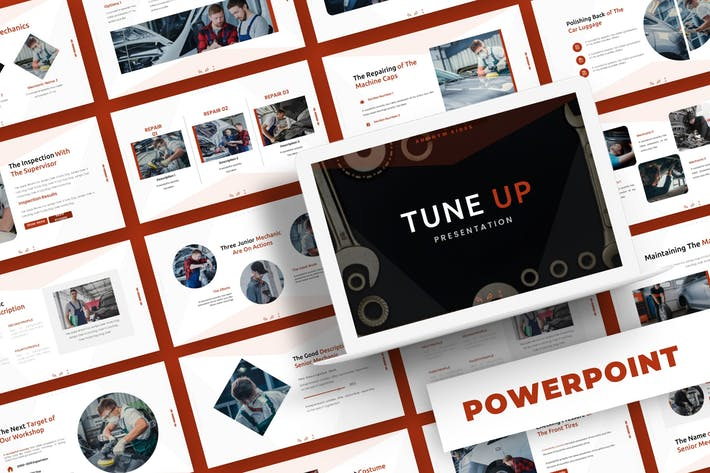 Thumbnail for Настройка — Шаблон Powerpoint