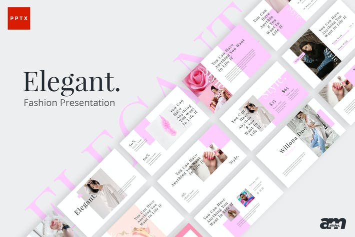 Thumbnail for Elegant Fashion Powerpoint