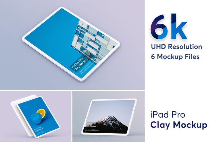 Thumbnail for Clay iPad Pro Mockup