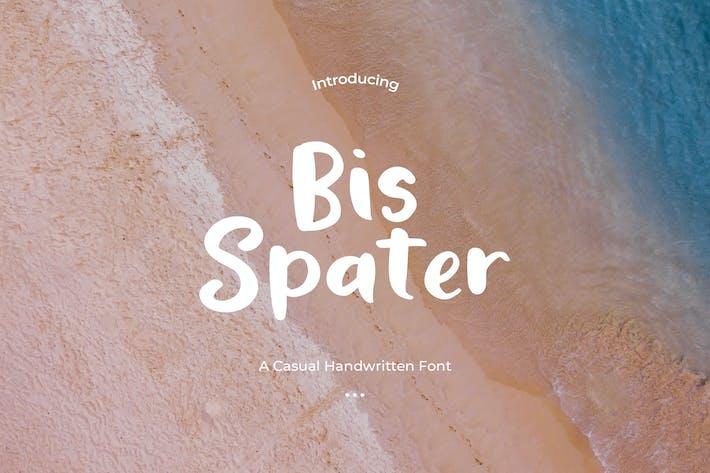 Thumbnail for Bis Spater - Handwritten Script Font