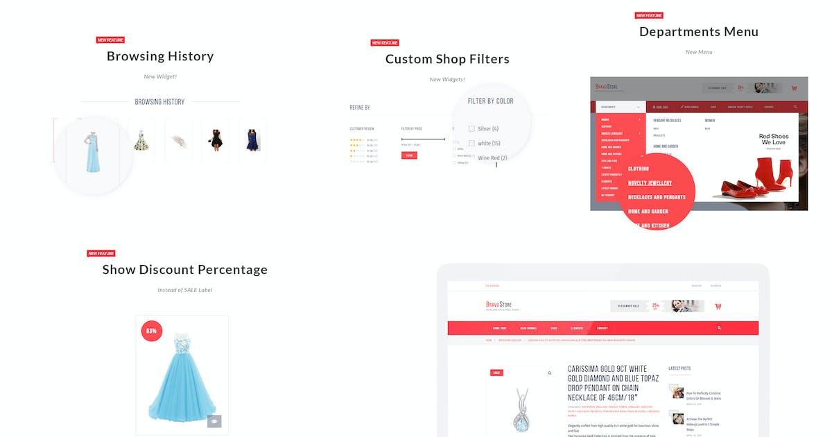 Download Bravo Store - WZone Affiliates Theme for WordPress by AA-Team