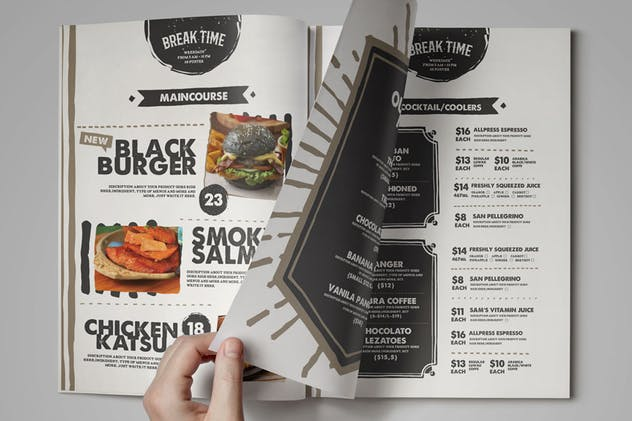 Food Menu Template - product preview 4