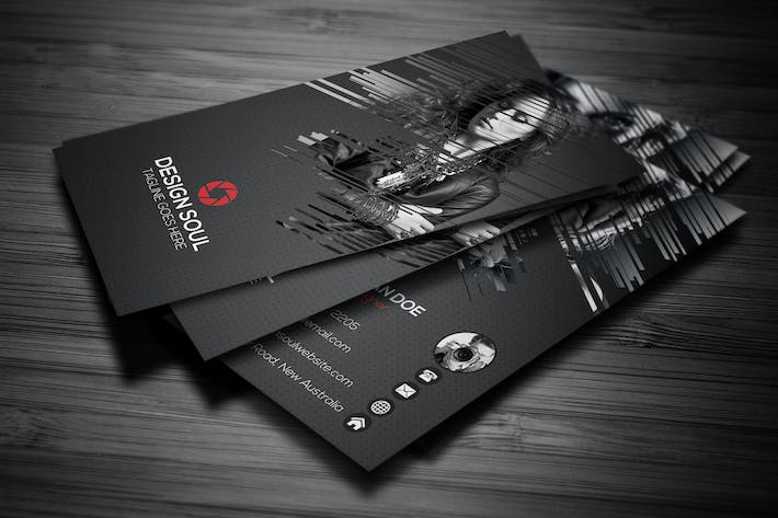 photography business card by designsoul14 on envato elements