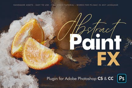 Abstract Paint Photoshop Plugin