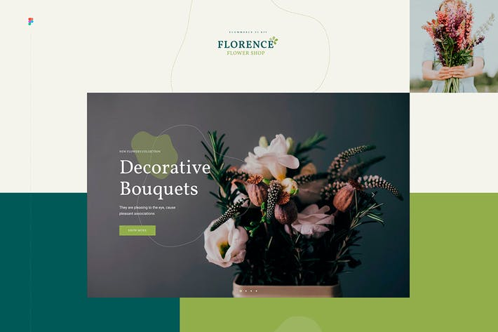 Thumbnail for Florence - eCommerce Web UI Kit