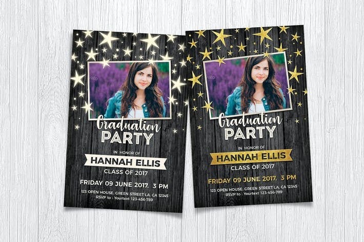 Thumbnail for Graduation Party Invitation