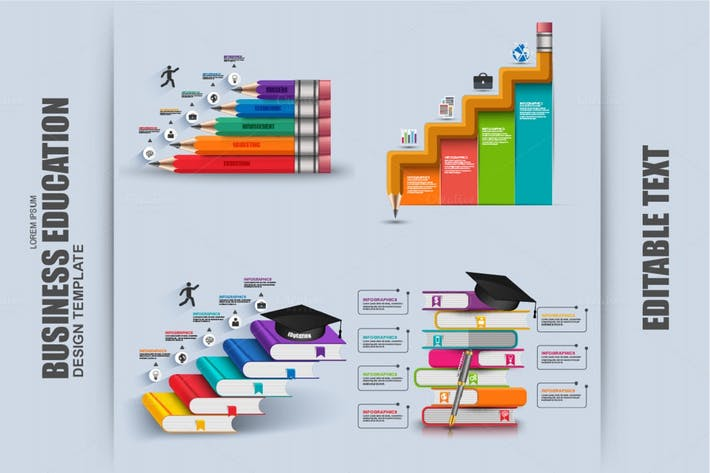 Thumbnail for Бизнес-образование Инфографика