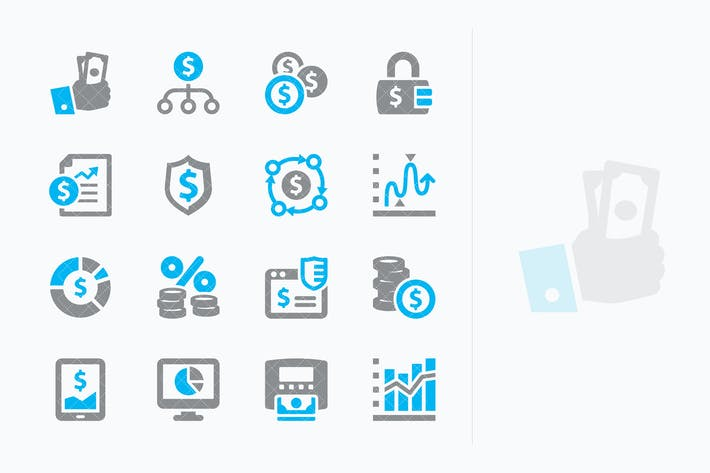 Personal & Business Finance Icons Set 5 - Sympa