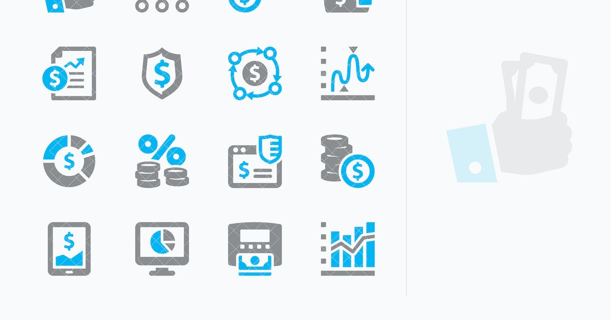 Personal & Business Finance Icons Set 5 - Sympa by Unknow