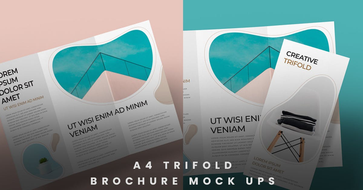 Download Trifold Brochure Mock-Ups by thirtypath