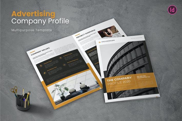 Thumbnail for Werbe-Unternehmensprofil