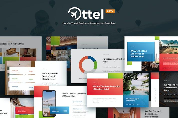 Thumbnail for OTTEL - Travel & Hospitality Powerpoint Template