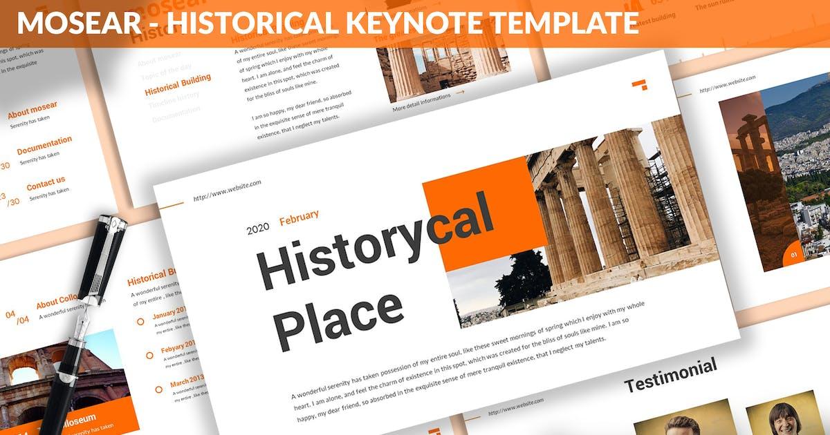 Download Monsear - Historical Keynote Template by SlideFactory