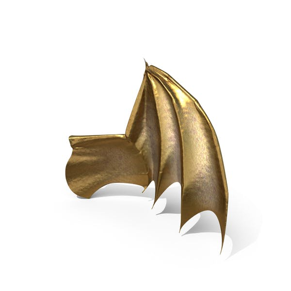 Goldener Kreatur-Flügel