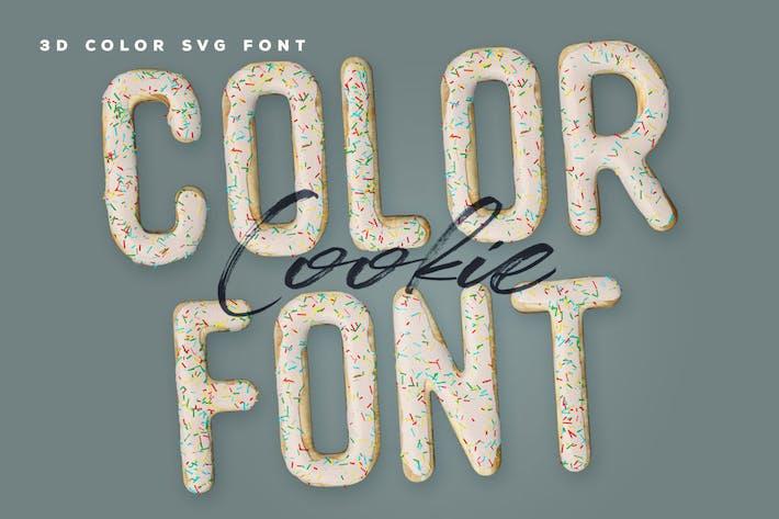 Cookie Color Font