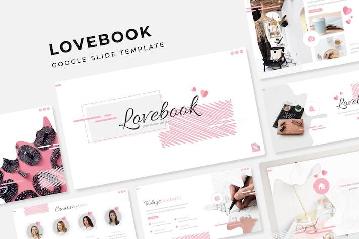 Thumbnail for Lovebook - Google Slide Template