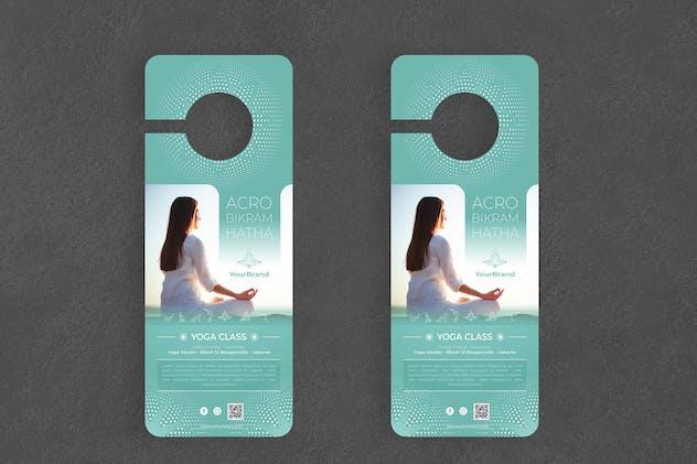 Yoga Door Hanger Creative Promotion