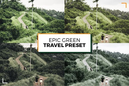 Epic Green Lightroom Presets