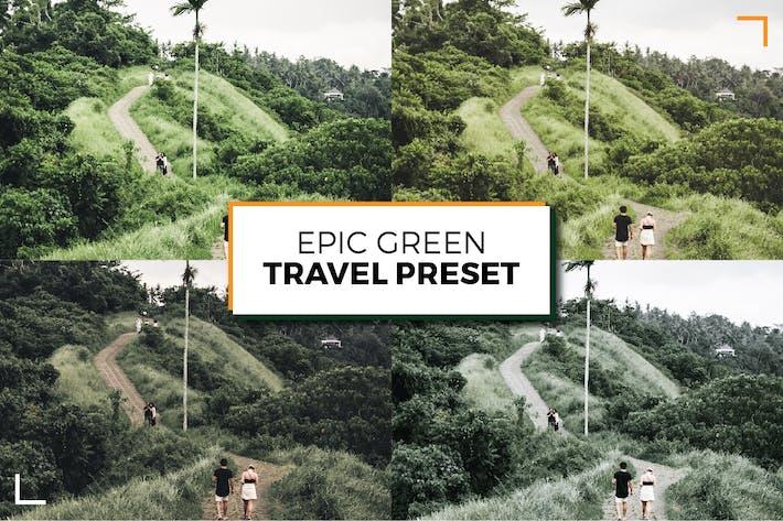 Thumbnail for Эпический зеленый пресет путешествий