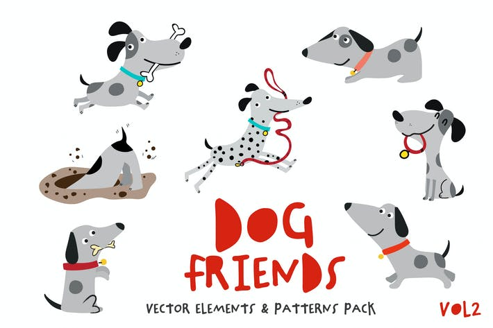 Thumbnail for Dog Friends Pack Vol.2