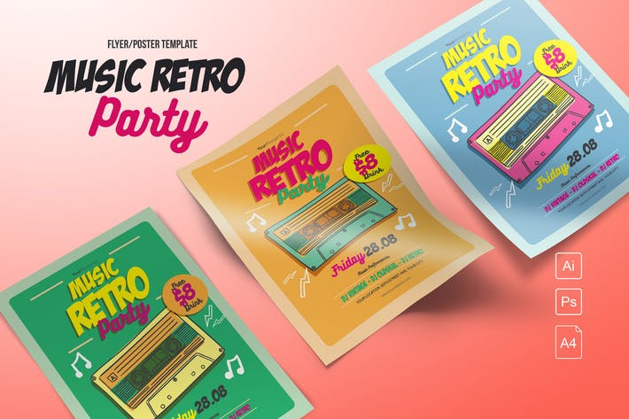 Thumbnail for Music Retro Party