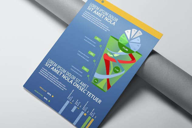Infographics Template Design - product preview 0