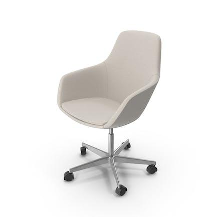 Beige Swivel Chair