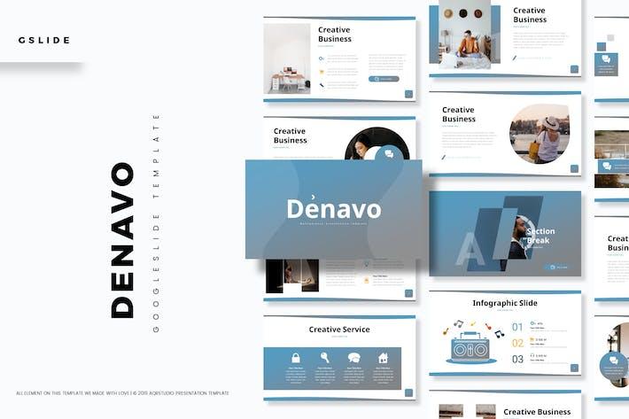 Denavo - Google Slide Template