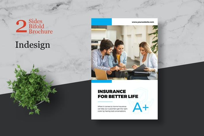 Thumbnail for Insurance Bifold Brochure