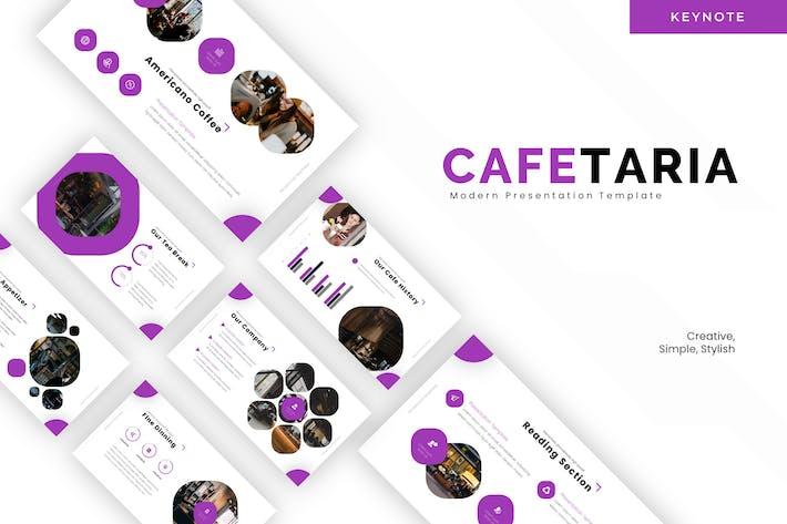 Thumbnail for Cafetaria - Keynote Template