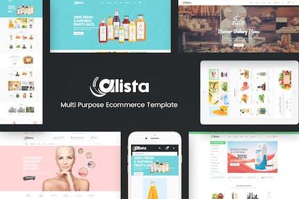 Alista - Responsive OpenCart Thème