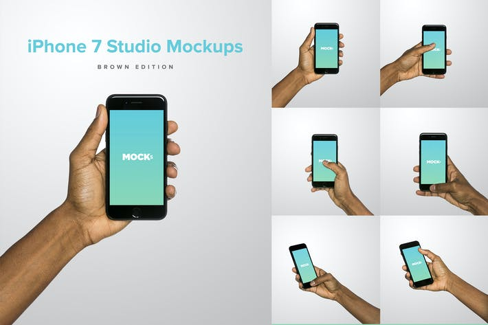 iPhone 7 Studio Mockups