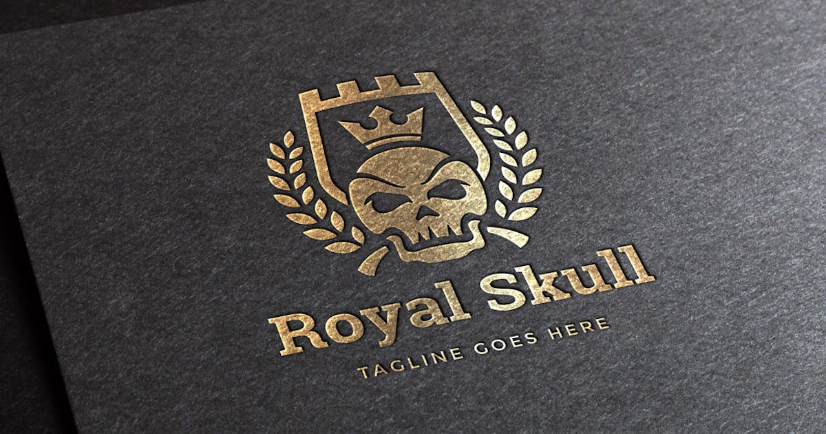 Download Royal Skull Logo Template by Unknow
