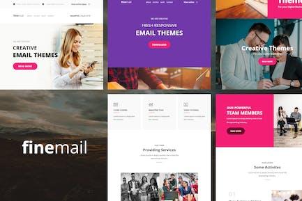 finemail - Plus de 60 modules Modèles d'e-mail