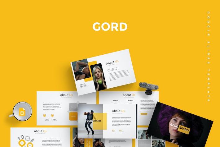 Thumbnail for Gord - Google PräsentationsVorlage