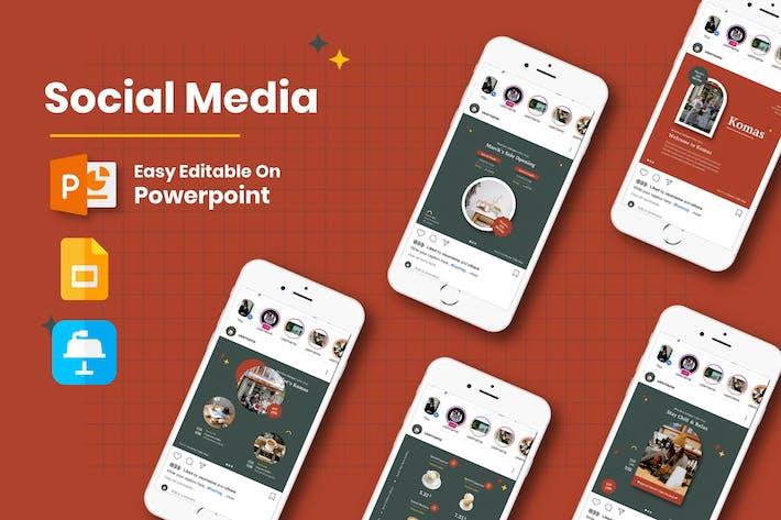 Komas - Social Media CoffeeShop  Presentations