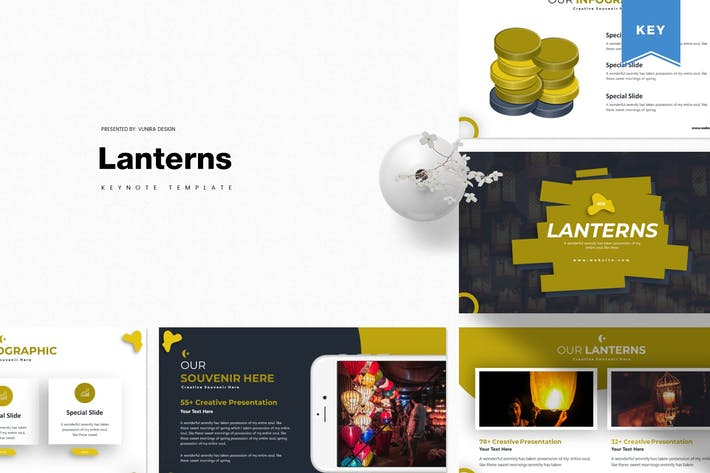 Thumbnail for Lanterns | Keynote Template
