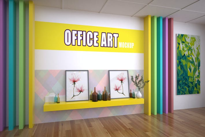 Thumbnail for Office Art Mockup
