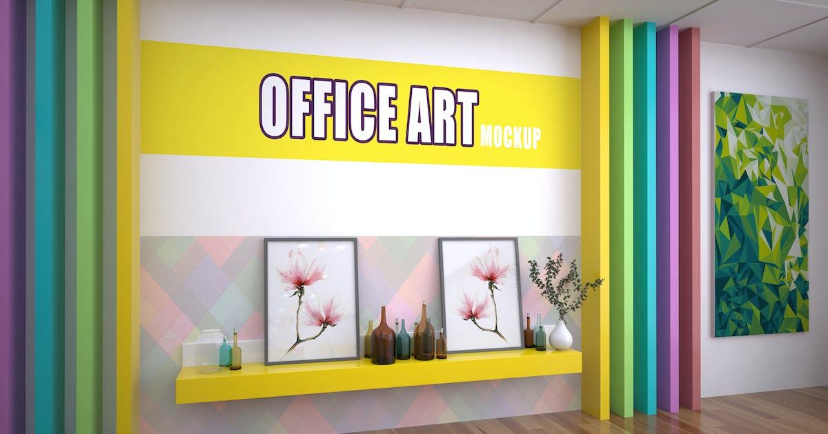 Download Office Art Mockup by sherlockholmes
